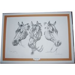 Dyck Godby, Sisters Oregon print, signed and #'d