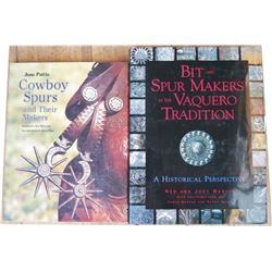 2 coffee table books, Ned Martin Bits and Spurs
