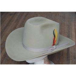 Stetson silver belly hat