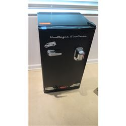"Black ""Nostalgia Electrics"" Mini Refrigerator"