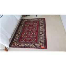 Red Accent Rug