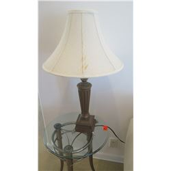 Table Lamp w/Flared Shade