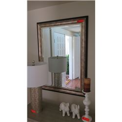 "Double Layer Framed Mirror, 31"" X 43"""