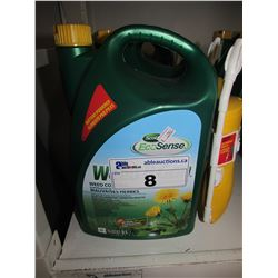 4 NEW SCOTTS ECOSENSE WEED-B-GONE WEED CONTROL 5L JUGS