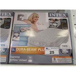 INTEX DURA-BEAM PLUS TWIN SIZE AIR MATTRESS