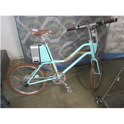 NEW SURFACE 604 ELECTRIC BIKE WITH CHARGER AND ACC REMOVABLE BATTERY PACK WITH DOWNLOADABLE