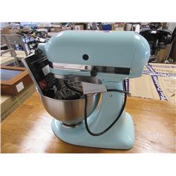 KITCHENAID ULTRA POWER STAND MIXER WITH WIRE WHIP/BEATER/ETC