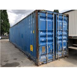 40FT SEA CONTAINER 9FTX8INCH TALL