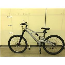 GREY CANNONDALE PROPHET 27 SPEED FULL SUSPENSION MOUNTAIN BIKE WITH FULL DISC BRAKES