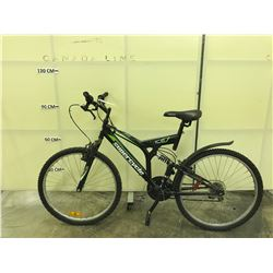 BLACK SUSPERCYCLE VICE FULL SUSPENSION MOUNTAIN BIKE