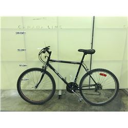 BLACK FREE SPIRIT 18 SPEED MOUNTAIN BIKE