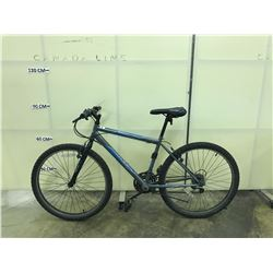 GREY HUFFY GRANITE 18 SPEED MOUNTAIN BIKE