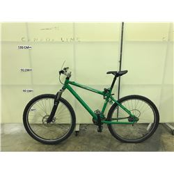 GREEN KONA FRONT SUSPENSION  MOUNTAIN BIKE