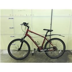 RED GIANT SEDONA DX 24 SPEED FRONT SUSPENSION MOUNTAIN BIKE