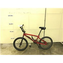 RED GT BMX BIKE WITH GYRO