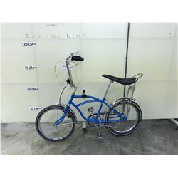 BLUE APOLLO RETRO STYLE CRUISER BIKE