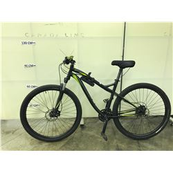 BLACK SPECIALIZED MYKA ELITE FRONT SUSPENSION MOUNTAIN BIKE WITH FRONT AND REAR HYDRAULIC DISC