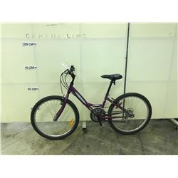 PURPLE SUPERCYLE 18 SPEED KIDS MOUNTAIN BIKE
