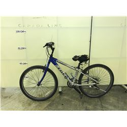 BLUE AND GREY TREK 3500 MOUNTAIN BIKE