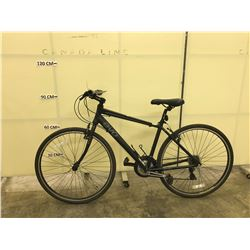 BLACK EVO RIVER SPORT 21 SPEED TRAIL BIKE