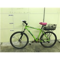 GREEN IRONHORSE 21 SPEED FRONT SUSPENSION MOUNTAIN BIKE