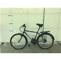 BLACK VISTA 18 SPEED MOUNTAIN BIKE
