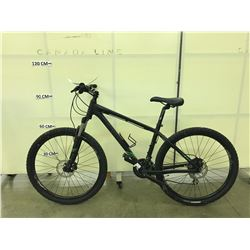 BLACK GIANT TALON 24 SPEED FRONT SUSPENSION MOUNTAIN BIKE WITH FRONT AND REAR HYDRAULIC DISC BRAKES