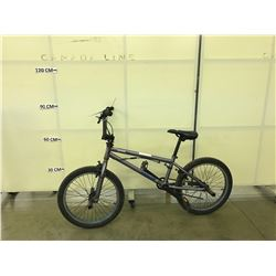 GREY MONGOOSE MODE 360 BMX BIKE WITH 4 PEGS AND GYRO