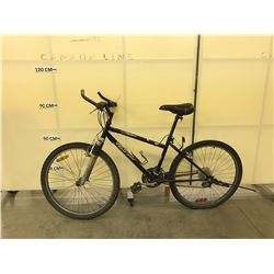 PURPLE VELOSPORT SHADOW 18 SPEED FRONT SUSPENSION MOUNTAIN BIKE