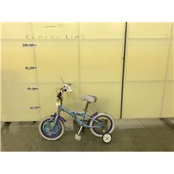 BLUE AVIGO KIDS BIKE