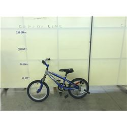 BLUE SHIFT'N GEARS TRIX FRONT SUSPENSION KIDS BIKE