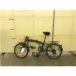 GREY NO NAME 6 SPEED FOLDING BIKE