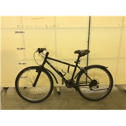 BLACK 21 SPEED FRONT SUSPENSION MOUNTAIN BIKE