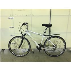 WHITE INFINITY SWIFT 24 SPEED FRONT SUSPENSION TRAIL BIKE