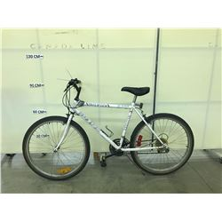 WHITE FREE SPIRIT TAILWIND 18 SPEED MOUNTAIN BIKE