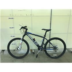 GREY APOLLO SUMMIT 24 SPEED FRONT SUSPENSION MOUNTAIN BIKE WITH FRONT AND REAR DISC BRAKES