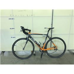 ORANGE AND GREY GT 3 SERIES 18 SPEED ROAD BIKE
