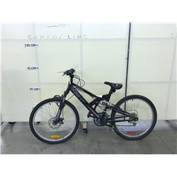BLACK NEXT CLIFFHANGER 21 SPEED FRONT SUSPENSION MOUNTAIN BIKE