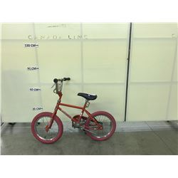 RED MITY CHALLENGER KIDS BIKE 6 SPEED