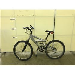 GREY MIELE 21 SPEED FULL SUSPENSION MOUNTAIN BIKE