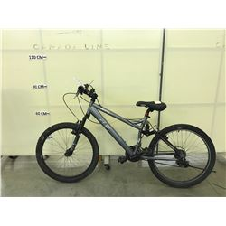 GREY CCM VANDAL 21 SPEED FULL SUSPENSION MOUNTAIN BIKE