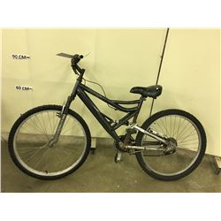BLACK NO NAME FULL SUSPENSION MOUNTAIN BIKE