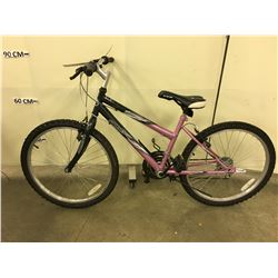 GREY AND PURPLE SUPERCYCLE SC1800 MOUNTAIN BIKE