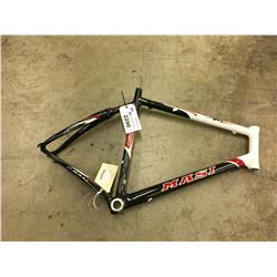 WHITE AND GREY MASI 3VC CARBON FIBRE MOUNTAIN BIKE FRAME