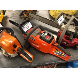 ECHO BATTERY OPERATED CHAIN SAW