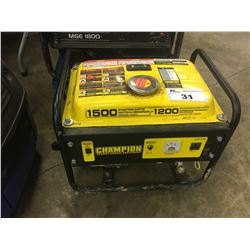 CHAMPION 1200 WATT GAS GENERATOR