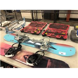 K2 152  CM SNOWBOARD WITH BINDINGS