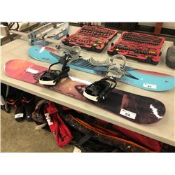 LAMAR 144 CM SNOWBOARD WITH BINDINGS