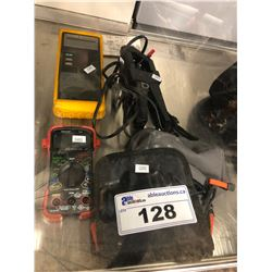 LOT OF ELECTRICAL TESTING EQUIPMENT