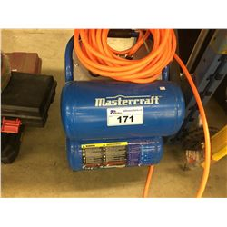 MASTERCRAFT ELECTRIC AIR COMPRESSOR WITH HOSE